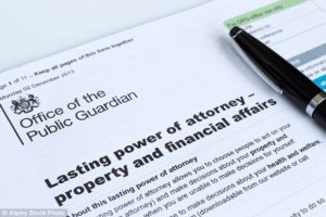 Lasting Power of Attorney Form